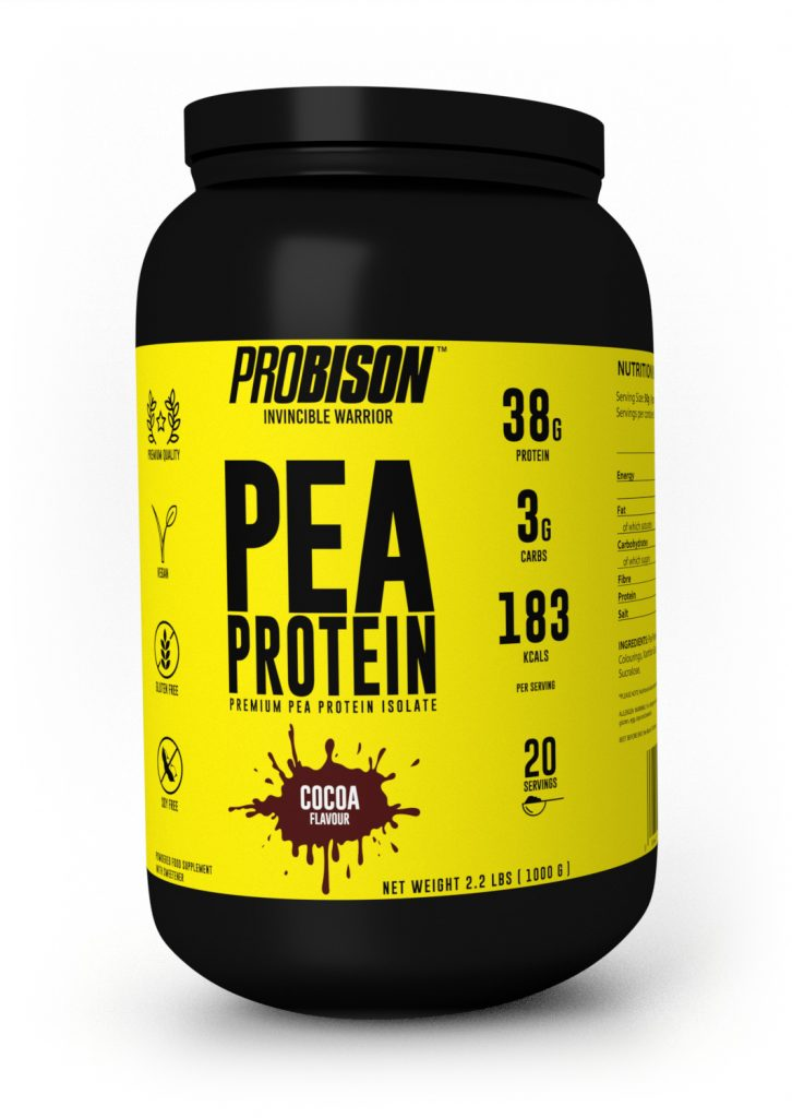 Pea Protein Isolate Chocolate Flavor