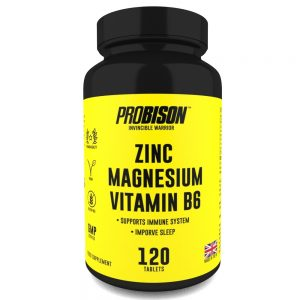 Zinc and Magnesium + Vitamin B6 ( 120 tablets )