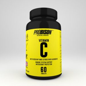 Vegan Vitamine C with rosehip and citrus bioflavonoids Probison